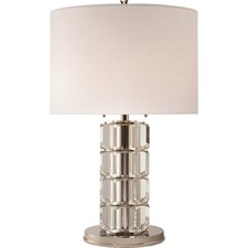 "Brookings 29"" H Table Lamp with Drum Shade"