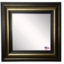 Ava Stepped Antiqued Wall Mirror