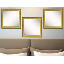 Ava Vintage Gold Mirror (Set of 3)