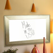 Brushed Wall Mounted Whiteboard