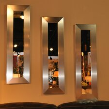 Molly Dawn Silver Wide Mirror Panel