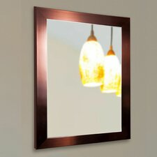 Ava Industrial Bronze Wall Mirror
