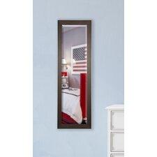 Jovie Jane Espresso Bricks Full Length Beveled Body Mirror