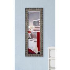 Jovie Jane Mahogany Feathered Full Length Beveled Body Mirror