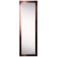 Ava Shiny Bronze Full Length Tall Body Mirror