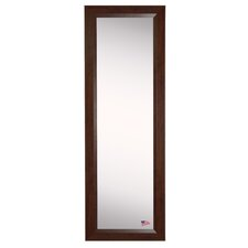 Ava Dark Walnut Full Length Body Mirror