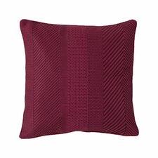Ziggurat Geo Embroidered Decorative Throw Pillow