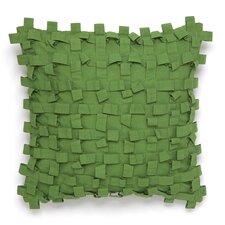 Pondicherry Textured Decorative Cotton Throw Pillow