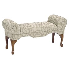 Traditional Boudoir Upholstered Bench