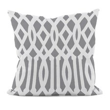 Geometric Decorative Synthetic Throw Pillow