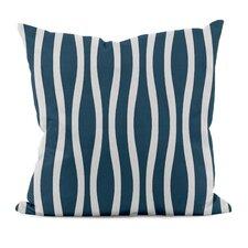 Wavy Stripe Throw Pillow