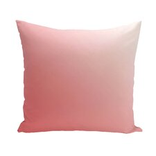 Ombre Hypoallergenic Throw Pillow