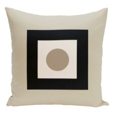 Geometric Cotton Throw Pillow