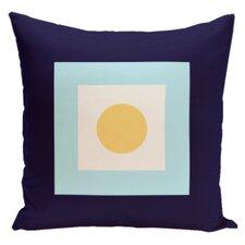 Geometric Cotton Throw Pillow