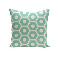 Geometric Decorative Outdoor Pillow