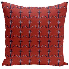 Decorative Anchor Throw Pillow