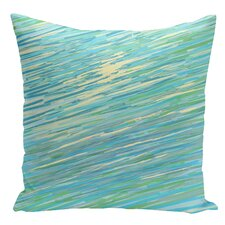 Decorative Abstract Coastal Throw Pillow