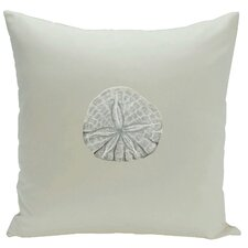 Decorative Sanddollar Throw Pillow