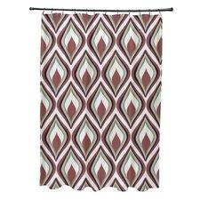 Animal Magnatism Geometric Shower Curtain