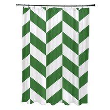 Subline Geometric Shower Curtain