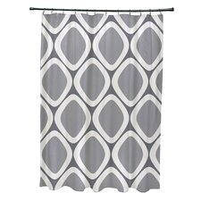 Subline Geometric Shower Curtain