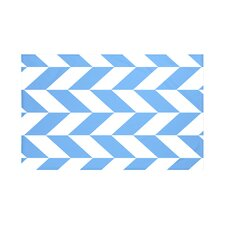 Zigzag Jag Geometric Print Throw Blanket