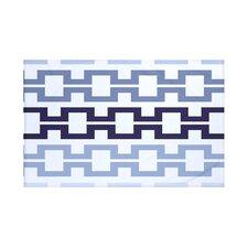 Cuff-Links Geometric Print Throw Blanket