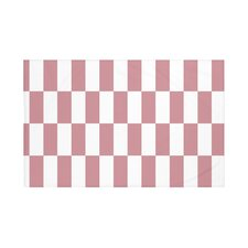 Stair Stepping Geometric Print Throw Blanket