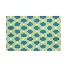 Dot Dash Geometric Print Throw Blanket