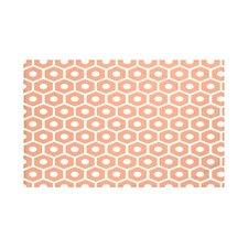 Honeycomb Pop Geometric Print Throw Blanket