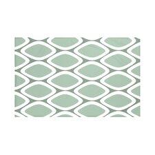 Pebbles Geometric Print Throw Blanket