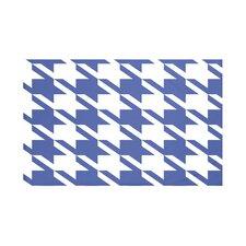 Houndstooth Geometric Print Throw Blanket