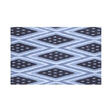 Ikat Diamond Dot Geometric Print Throw Blanket