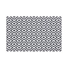 Diamond Mayhem Geometric Print Throw Blanket
