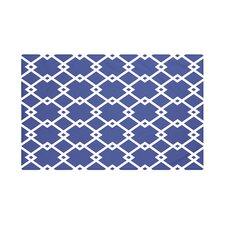 Link Lock Geometric Print Throw Blanket