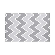 Inside The Lines Chevron Print Throw Blanket