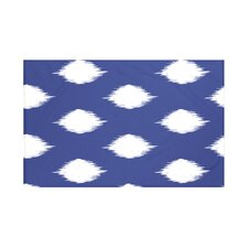 Ikat Dot Geometric Print Throw Blanket