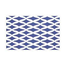 Lattice Kravitz Geometric Print Throw Blanket