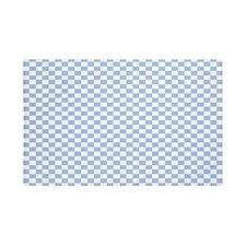 Gingham Check Geometric Print Throw Blanket