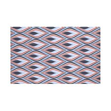 Candlelight Geometric Print Throw Blanket