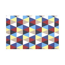 Triangles! Geometric Print Throw Blanket