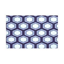 Hex Appeal Geometric Print Throw Blanket