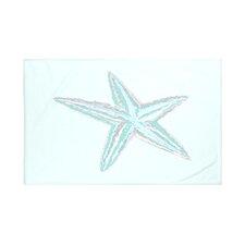 Sea Star Coastal Print Throw Blanket