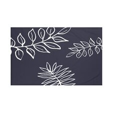 My Best Frond Floral Print Throw Blanket