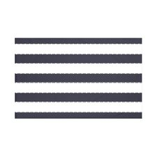 Stitch in Time Stripes Print Throw Blanket
