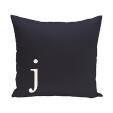 Barcelona Monogram Throw Pillow