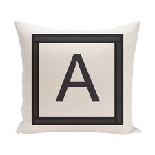 Amsterdam Monogram Throw Pillow