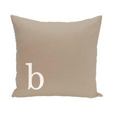 Barcelona Monogram Throw Pillow