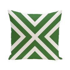Bold Stripe Decorative Outdoor Floor Pillow