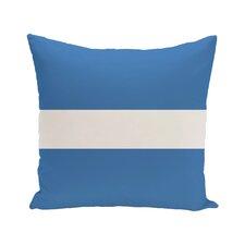 Narrow the Gap Stripe Print Outdoor Throw Pillow